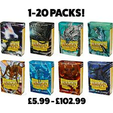 More details for dragon shield small card sleeves classic japanese size yugioh sleeves 1-20 packs