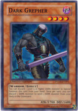 YuGiOh Dark Grepher - PTDN-ENSP1 - Super Rare - Limited Edition Heavily Played
