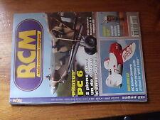 $$7 Revue RCM N°225 Plan encarte Nieuport II N  Pilatus PC 6  Gee-Bee R2  Centur