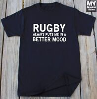 Rugby T-Shirt Sports Championship Birthday Christmas Gift Rugby Lover Shirt