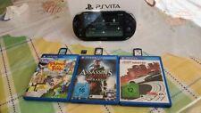 PS VITA - Playstation Vita Slim - Perfette condizioni + Confezione + 3giochi