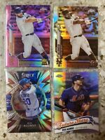 2020 Topps Chrome Pete Alonso 4- Card Lot See Pictures