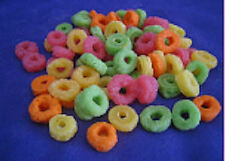 Wax Cereal Fruity Circles (Scented), Fake Food, Props, 2oz