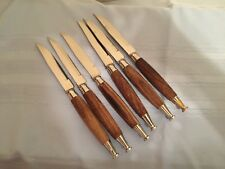 *GUC* Steak Knife Set of 6 by Soffa Japan - FREE SHIPPING