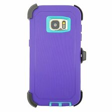For Samsung Galaxy S7 & S7 Edge Case Cover with Belt Clip fits Otterbox Defender