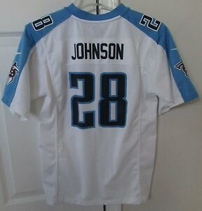 NFL Tennessee Titans Chris Johnson #28 Jersey Youth Large by Nike EUC