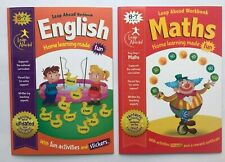 Maths & English Leap Ahead Home Learning Workbook For Childrens Age 6-7 KS1 Yr 2