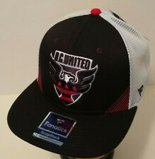 D.C. UNITED MLS Soccer Hat Ball Cap~Trucker Snapback~Fanatics~NWT~US Ships FREE