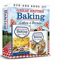 GREAT BRITISH BAKING CAKES AND BREAD BOOK & DVD GIFT SET - COOKING