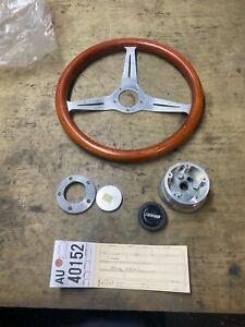 1993 1994 1995 1996 Cadillac Fleetwood Brougham wood steering wheel au40152
