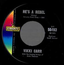 Vikki Carr  He's a rebel   Northern soul popcorn MINT-