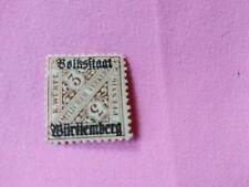 STAMPS - TIMBRE - POSTZEGELS - DUITSLAND WÜRTTEMBERG 1919  NR. 259 *  (D123 )