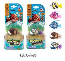 1x Original Zuru Deep Sea robo Fish pez robótico aleatorio de diseño para Mascotas Peces