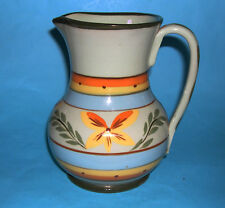 Hartrox Stoneware Pottery Castleford Attractive Vibrant Leaf Design Jug (M.Mark)