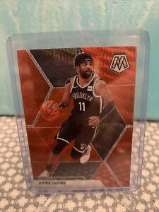 2019-20 Mosaic Kyrie Irving RED WAVE Tmall prizm mosaic 11 Nets SSP