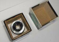 Lens Enlarging Lens Autocrat 1:3,5 f50mm in original box Vintage Rare!