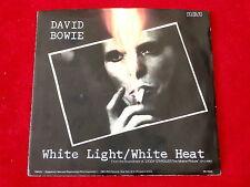 DAVID BOWIE~ WHITE LIGHT~ WHITE HEAT~RARE~VELVET UNDERGROUND~ RCA ~ POP 45