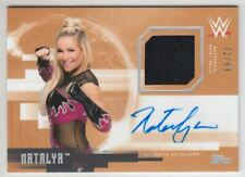 2017 Topps WWE Undisputed Autographed Relics Bronze #NNO Natalya Auto /99