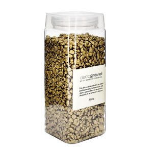 800g Gold Gravel Deco 4-6mm Great for Aquarium, Garden, Plant & Candle Display