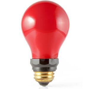 Impact 15W Red Darkroom Safelight Lamp Light Bulb ES Screw Base (E27) PF712E
