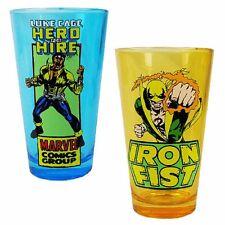 Iron Fist et Luc Gâteau Marvel Comics Pinte 2 Paquet Verrerie