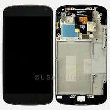 LG Google Nexus 4 E960 Display LCD Screen Touch Screen Digitizer Frame Assembly