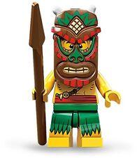 Lego collectible minifig series 11 Island Warrior / Islander suit castle set
