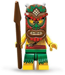 Lego collectible minifig series 11 Island Warrior / Islander suit castle set