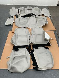 2018-2021 Honda Accord LX Sedan Factory OEM cloth seat cover set gray