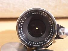 Schneider 50mm F1.9 Auto Xenon Manual Focus Exakta Lens