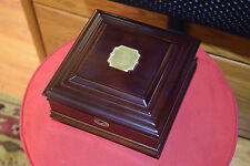 c.2000 Bombay Company Cherry Wood 8 Slot Wrist Watch Holder Box/Case CPS Keys