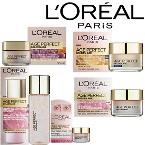 L'Oreal Age Perfect Golden Age Day/Night/SPF20/Eye Cream + Essence