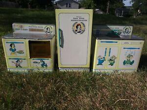 Wolverine Kitchen Set - Snow White and 7 Dwarfs - Stove, Refrigerator, Sink