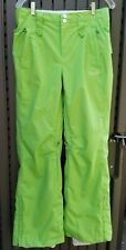 "O'Neill Freedom Series, Ski Snow Boarding Pants Green Women's Size M (15.5"")"
