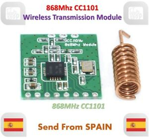 CC1101 868MHz Wireless Modulo Long Distance Transmission With Antenna