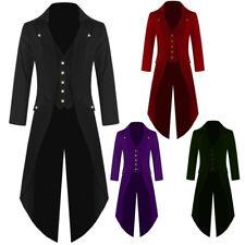 Men's Coat Performance Uniform Tuxedo Vladimir Jacket Tail Coat Steampunk Gothic