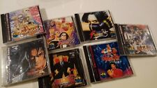 LOT 7 GAMES - SNK Neo Geo CD (covers stained)