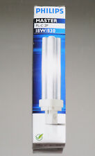 Philips Master PL-C 18W/830 Energiesparleuchtmittel G24d-2 830 warmweiß 3000K