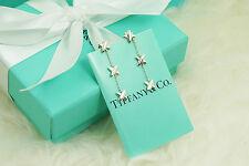 Tiffany & Co. Sterling Silver RARE Triple X Dangling Stud Earrings (#V104)
