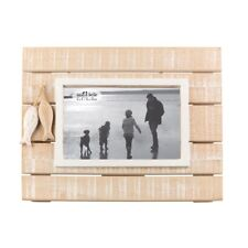 Sass & Belle Board Walk Hanging Standing Wood Photo Frame Portrait Picture 6 X 4