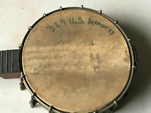 "369th US Infantry ""Harlem Hellfighters"" banjo"