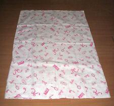 Pottery Barn Kids Barbie Doll 100% Cotton Standard Pillowcase Pillow Case