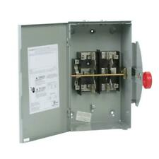 100 Amp 120240 Volt 24000 Watt Non Fused General Duty Double Throw Safety Sw