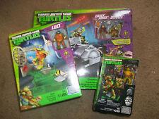 3 Mega Bloks Teenage Mutant Ninja Turtles Sets Turtle Racer Pizza Fury Michelang