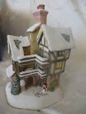 David Winter Cottage Ye Merry Gentlemens Lodging #1480 Nib