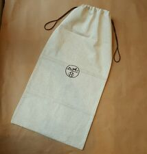 Authentic HERMES Herringbone Long Dust Bag For Boots | 69.5cm x 35.5cm