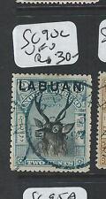 LABUAN  (P2201B) 2C DEER SG 90C  VFU