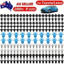 200X For Toyota Lexus Door Trim Clips Screw Mounting Grommet Wheelarch Retainer