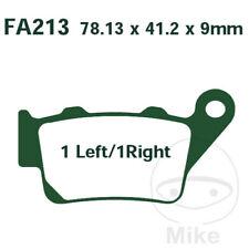 EBC FA Organic Rear Brake Pads FA213 BMW G 650 GS Sert?o ABS 2012-2014