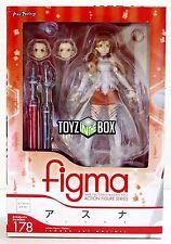 """In STOCK Max Factory Figma """"Asuna"""" Sword Art Online SAO Action Figure 178"""